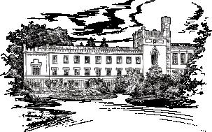 perokresba zámku